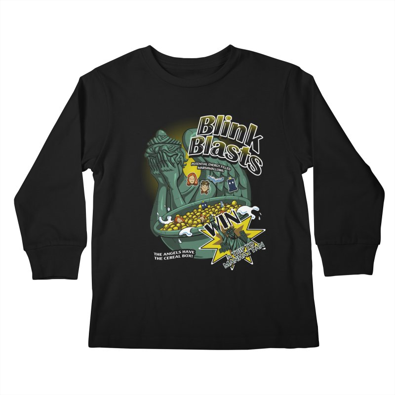 Blink Blasts Kids Longsleeve T-Shirt by Stephen Hartman Illustration Shop