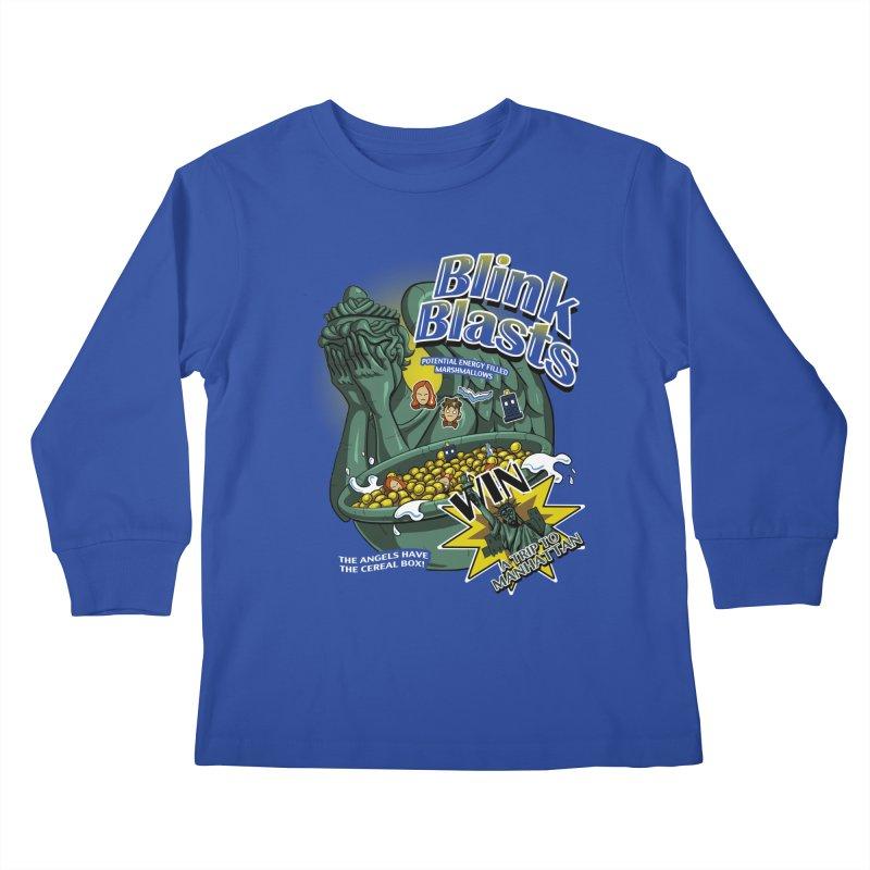 Blink Blasts Kids Longsleeve T-Shirt by Stephen Hartman Illustration Shop