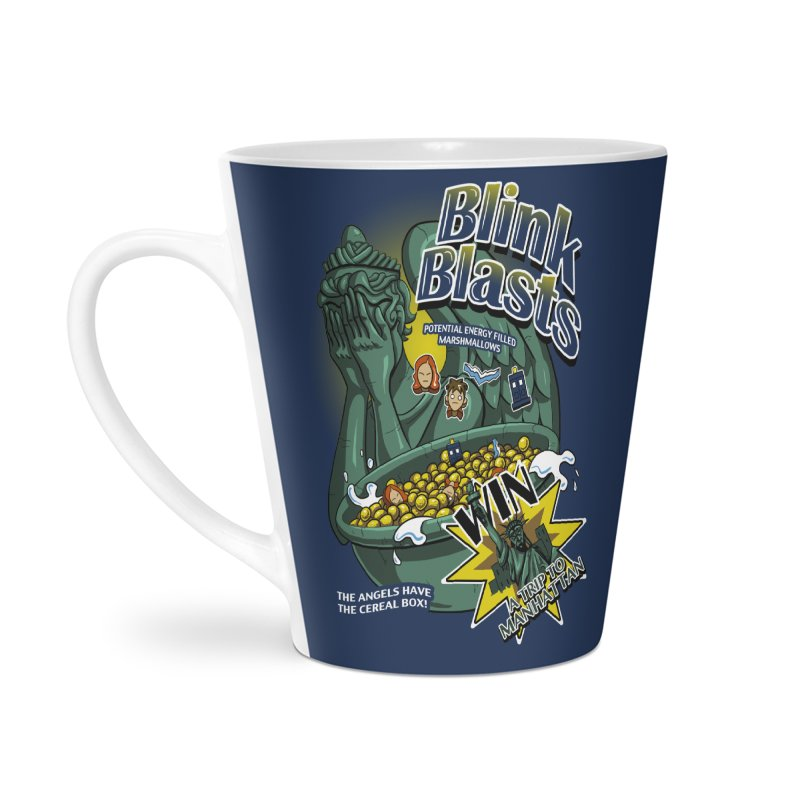 Blink Blasts Accessories Latte Mug by Stephen Hartman Illustration Shop
