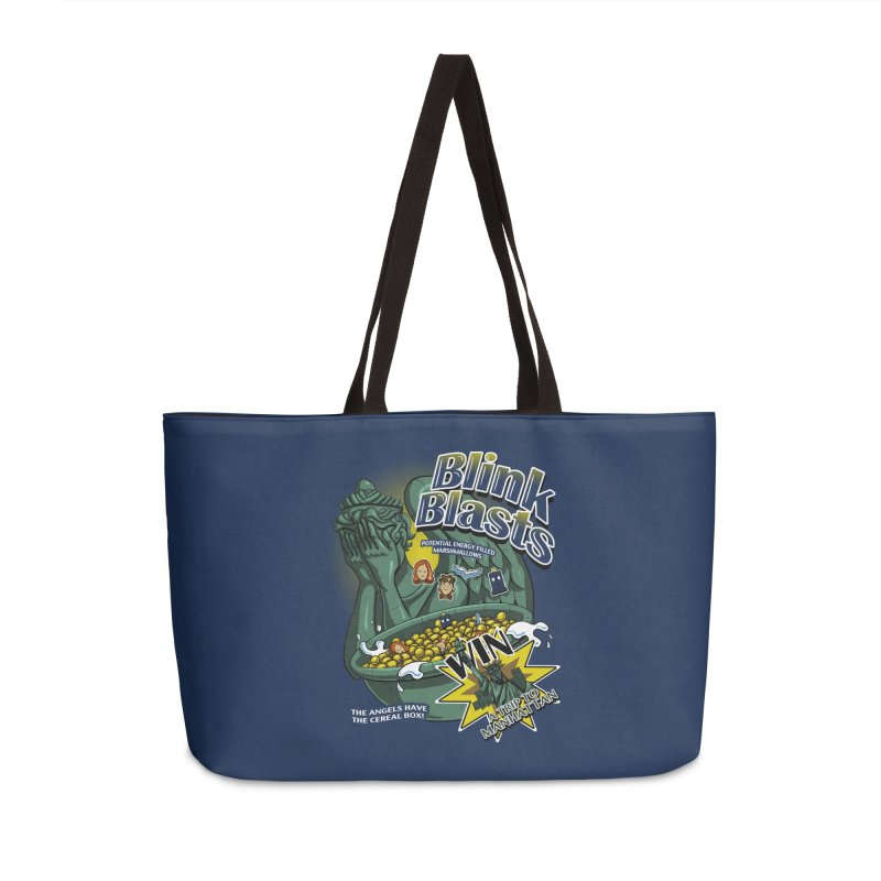Blink Blasts Accessories Weekender Bag Bag by Stephen Hartman Illustration Shop