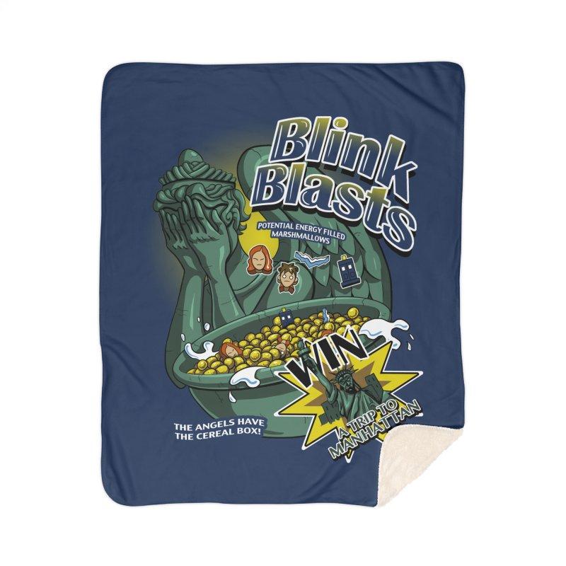 Blink Blasts Home Blanket by Stephen Hartman Illustration Shop