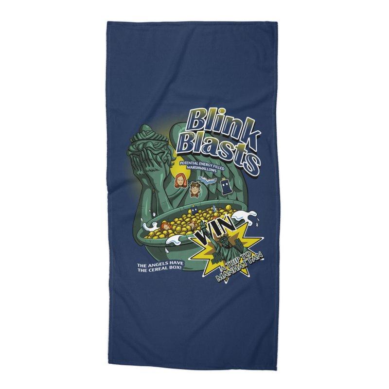 Blink Blasts Accessories Beach Towel by Stephen Hartman Illustration Shop