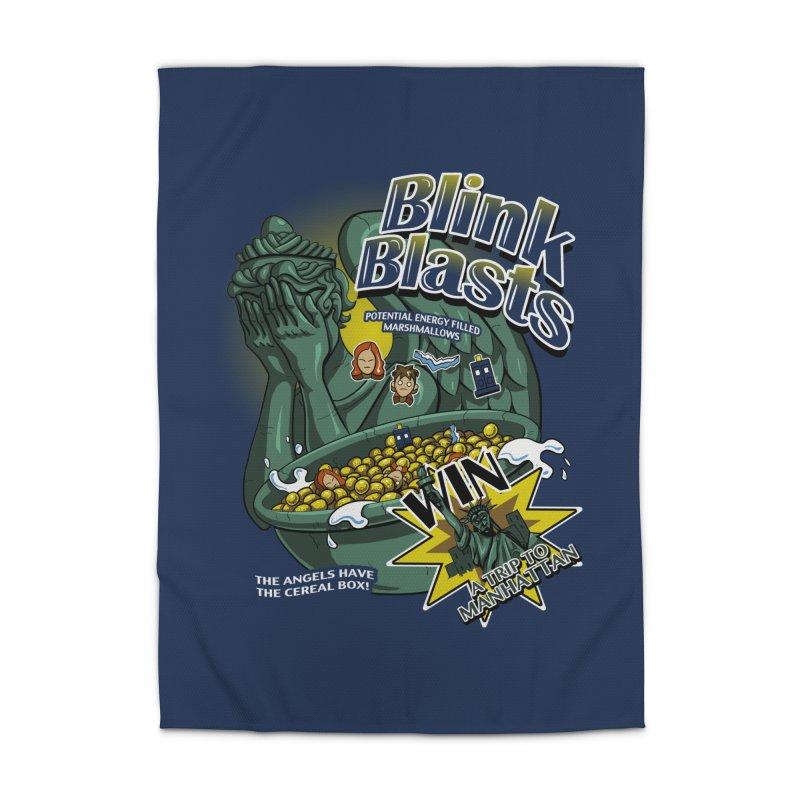 Blink Blasts Home Rug by Stephen Hartman Illustration Shop