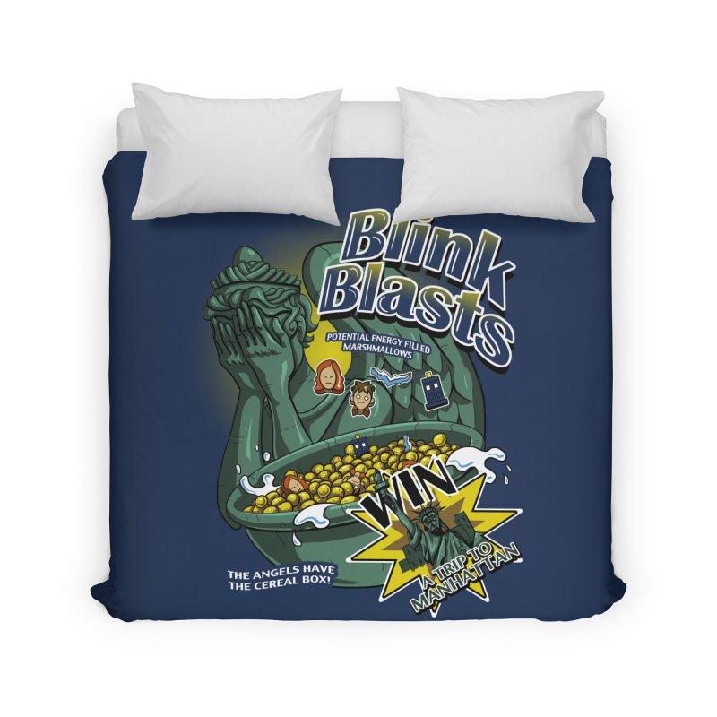 Blink Blasts Home Duvet by Stephen Hartman Illustration Shop