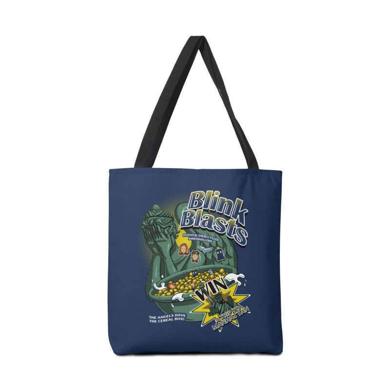 Blink Blasts Accessories Tote Bag Bag by Stephen Hartman Illustration Shop