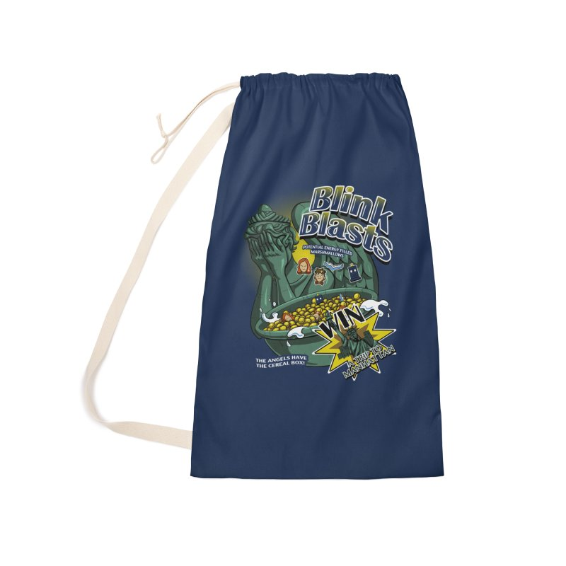 Blink Blasts Accessories Laundry Bag Bag by Stephen Hartman Illustration Shop