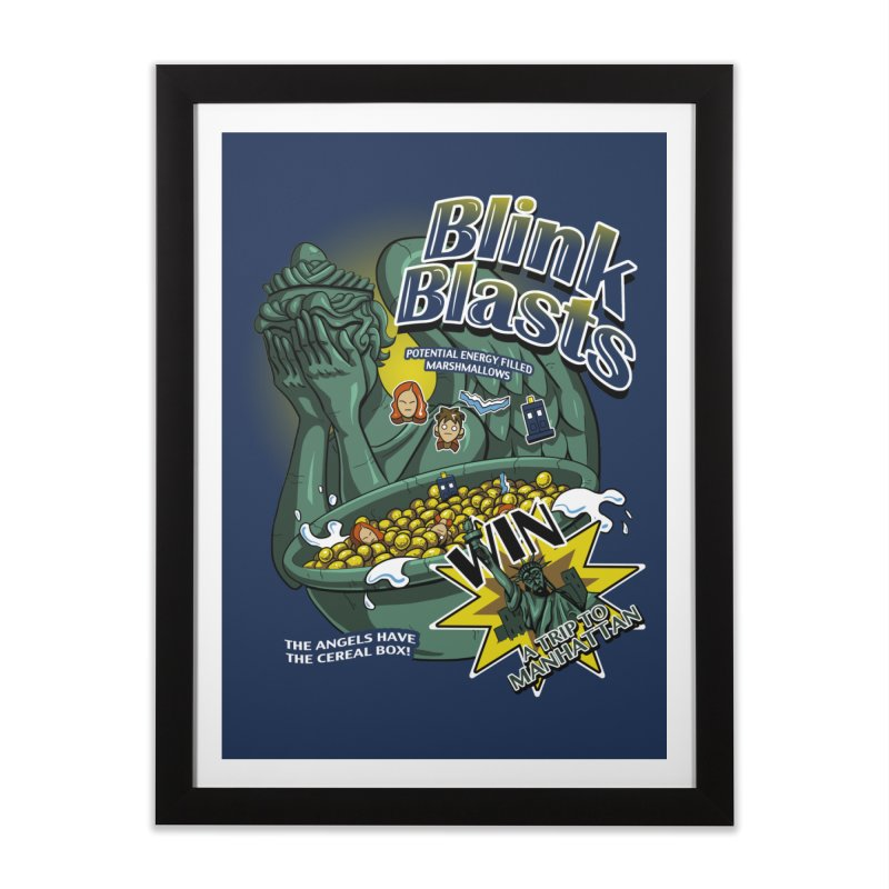 Blink Blasts Home Framed Fine Art Print by Stephen Hartman Illustration Shop