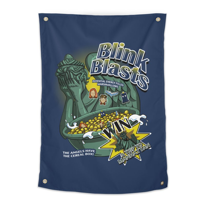 Blink Blasts Home Tapestry by Stephen Hartman Illustration Shop