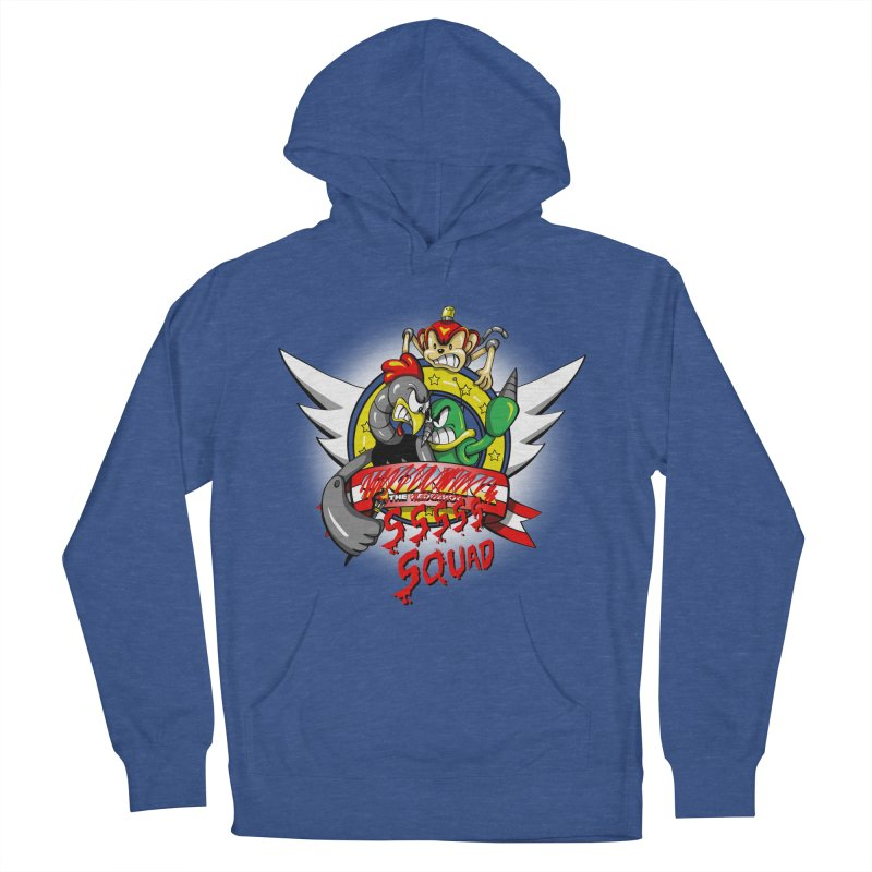 Hedgehog Hunters Men's Pullover Hoody by Stephen Hartman Illustration Shop