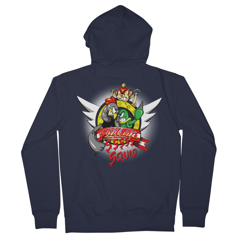 Hedgehog Hunters Women's Zip-Up Hoody by Stephen Hartman Illustration Shop