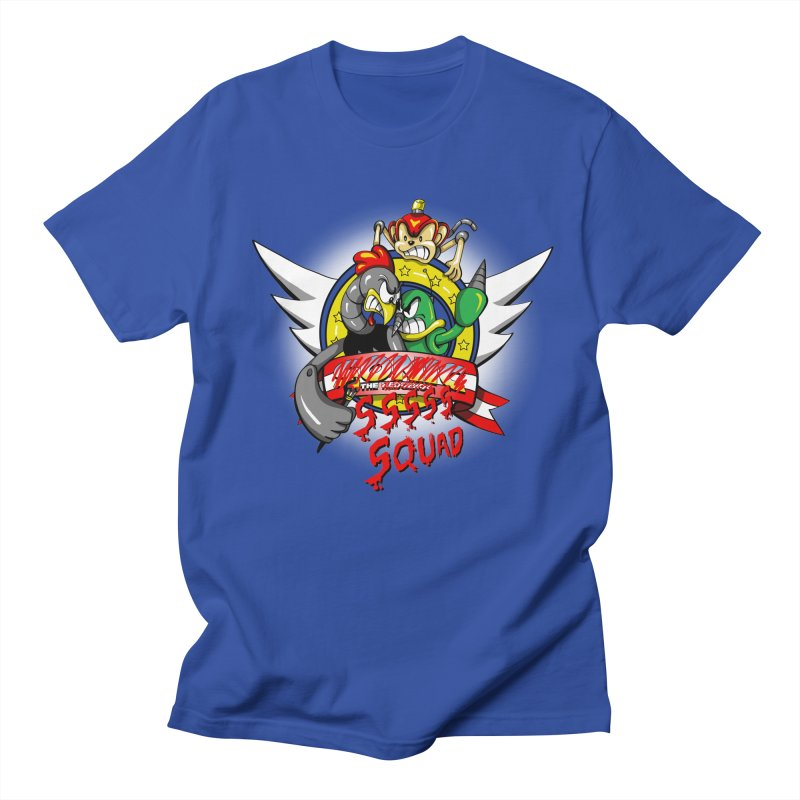 Hedgehog Hunters Men's T-Shirt by Stephen Hartman Illustration Shop