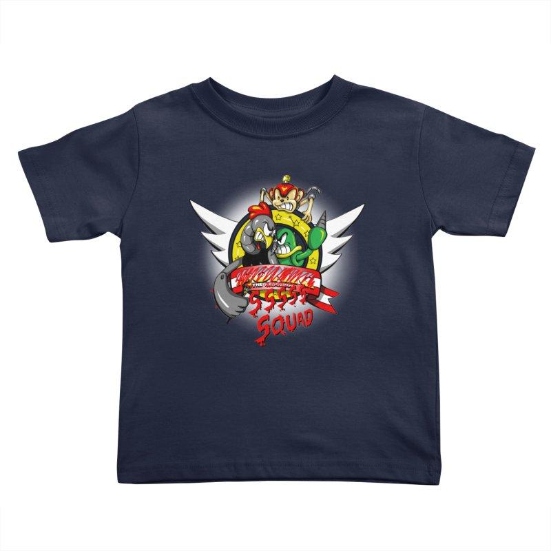 Hedgehog Hunters Kids Toddler T-Shirt by Stephen Hartman Illustration Shop