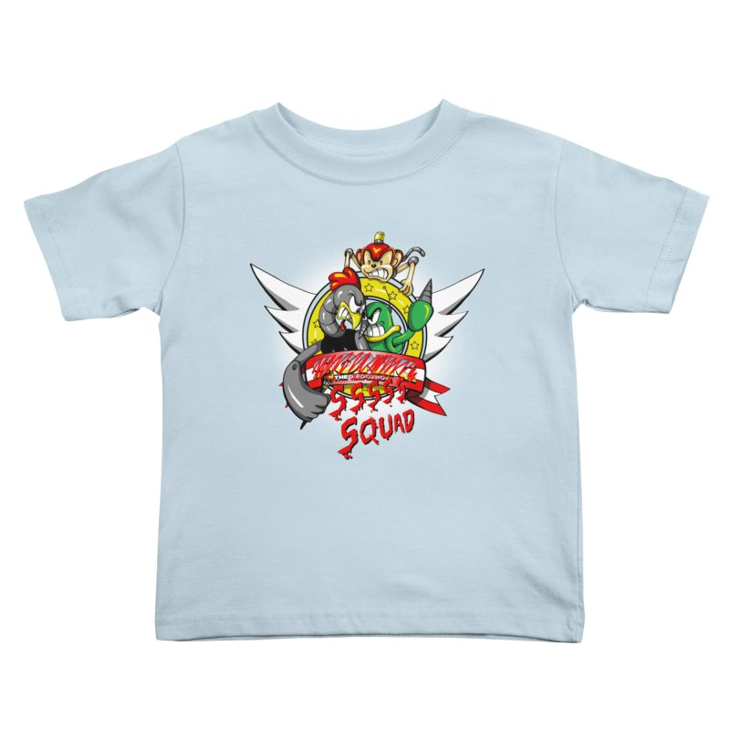 Hedgehog Hunters Kids Toddler T-Shirt by Stephen Hartman Illustration Shop