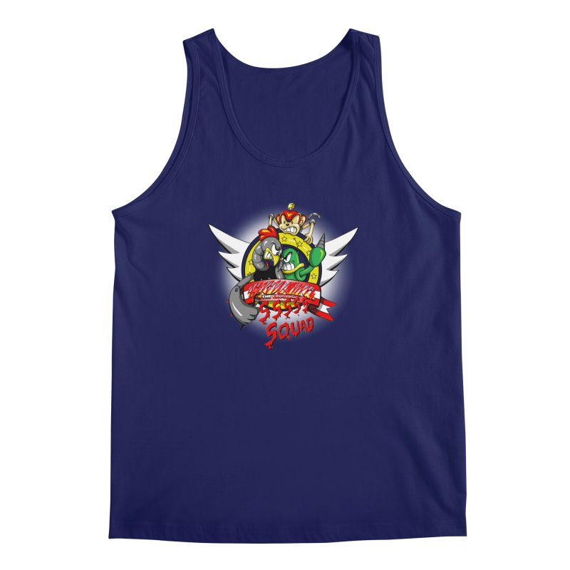 Hedgehog Hunters Men's Tank by Stephen Hartman Illustration Shop