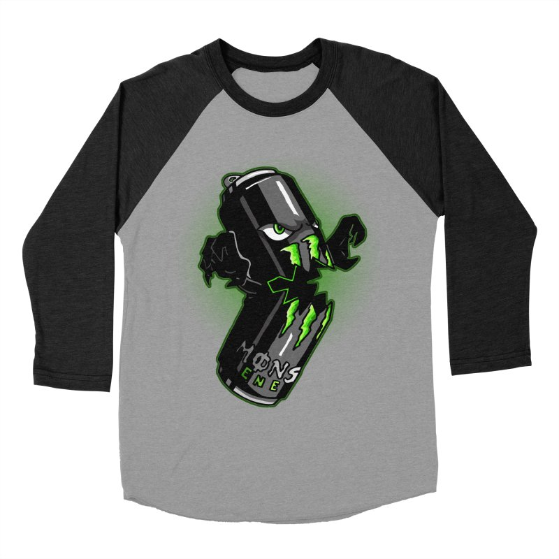 A Monster Women's Baseball Triblend T-Shirt by Stephen Hartman Illustration Shop