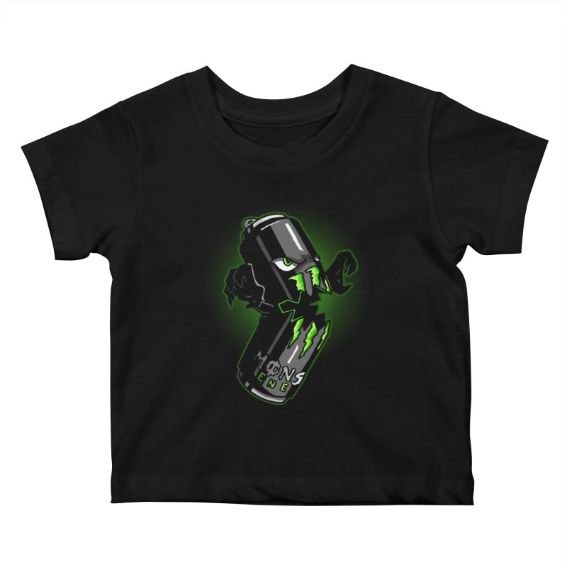 A Monster Kids Baby T-Shirt by Stephen Hartman Illustration Shop
