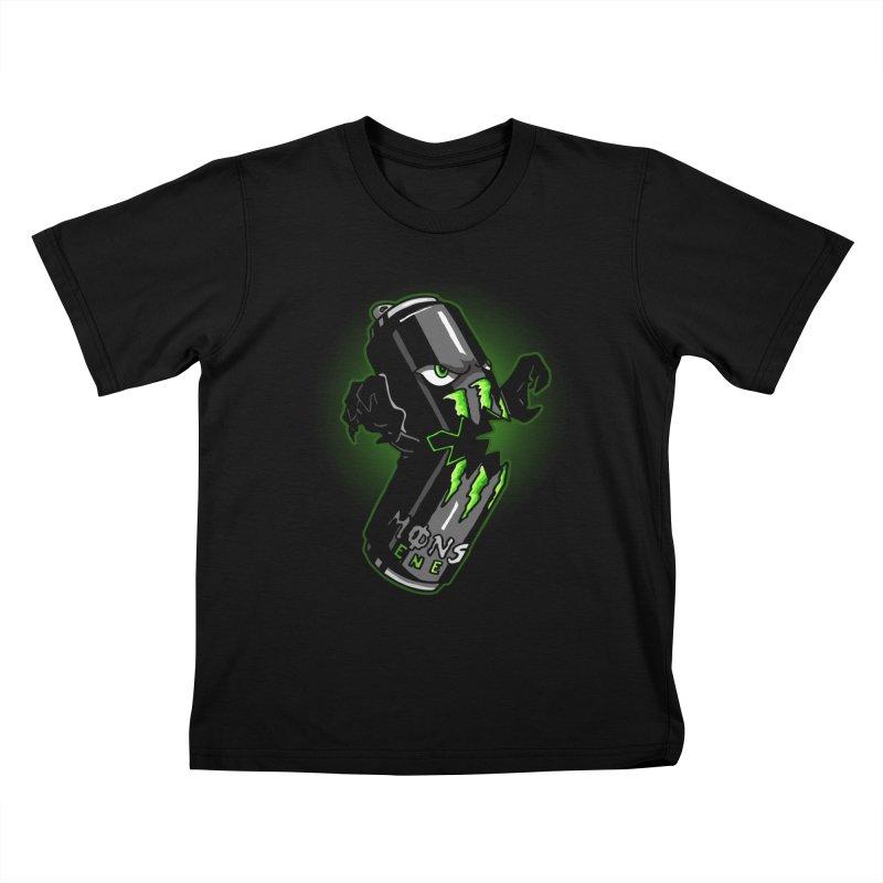 A Monster Kids T-Shirt by Stephen Hartman Illustration Shop
