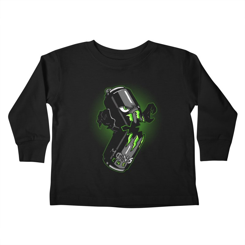 A Monster Kids Toddler Longsleeve T-Shirt by Stephen Hartman Illustration Shop
