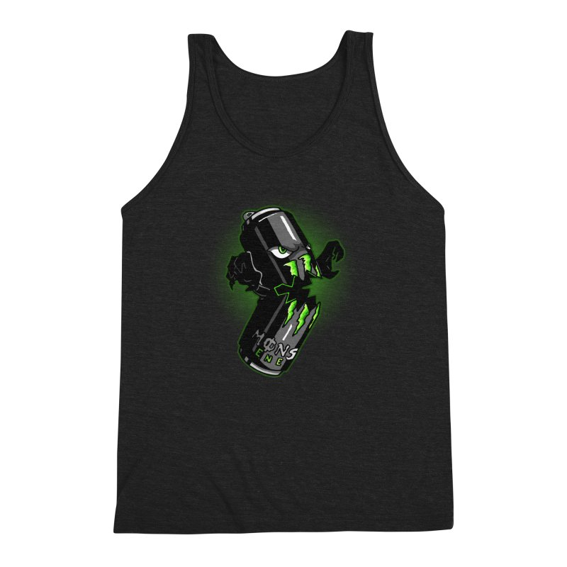 A Monster Men's Triblend Tank by Stephen Hartman Illustration Shop