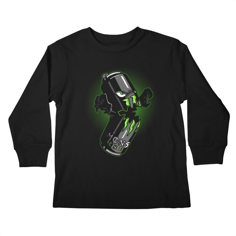 A Monster Kids Longsleeve T-Shirt by Stephen Hartman Illustration Shop
