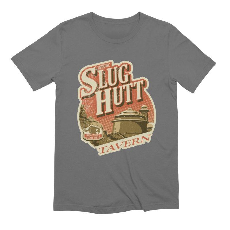 Slug Hutt Men's T-Shirt by Stephen Hartman Illustration Shop