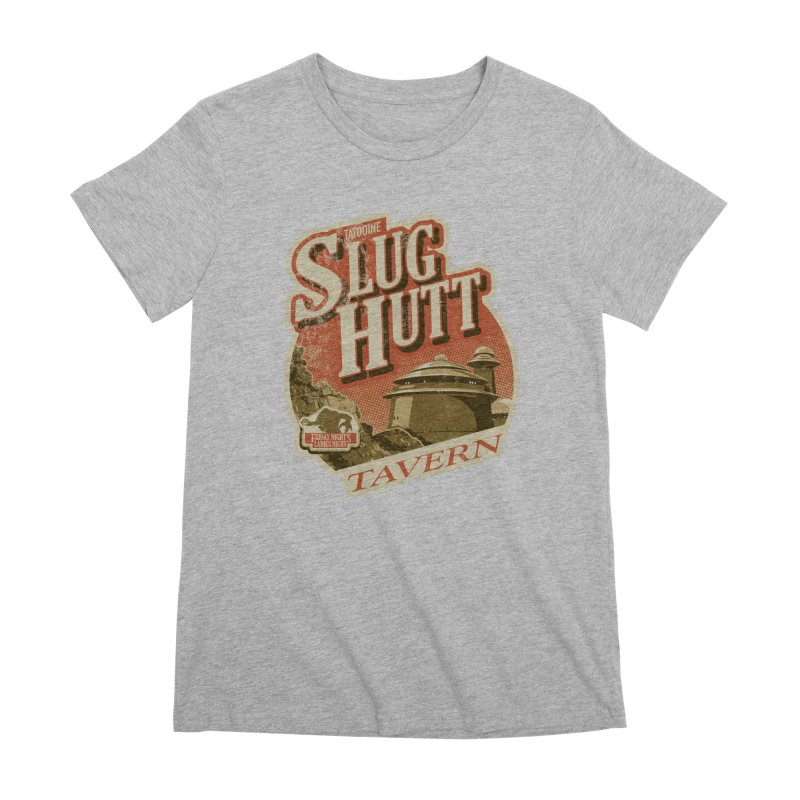 Slug Hutt Women's Premium T-Shirt by Stephen Hartman Illustration Shop