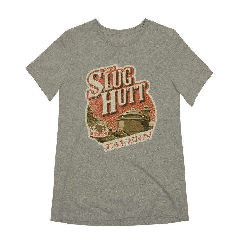 Slug Hutt Women's Extra Soft T-Shirt by Stephen Hartman Illustration Shop