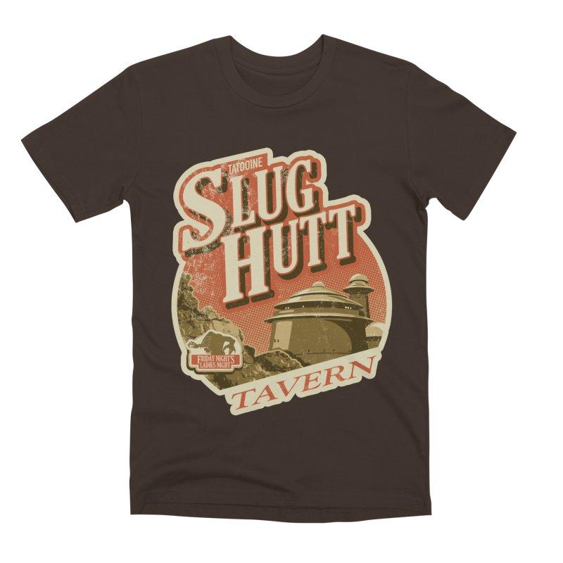 Slug Hutt Men's Premium T-Shirt by Stephen Hartman Illustration Shop