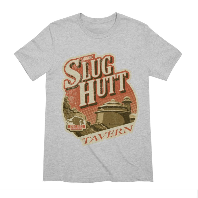 Slug Hutt Men's Extra Soft T-Shirt by Stephen Hartman Illustration Shop