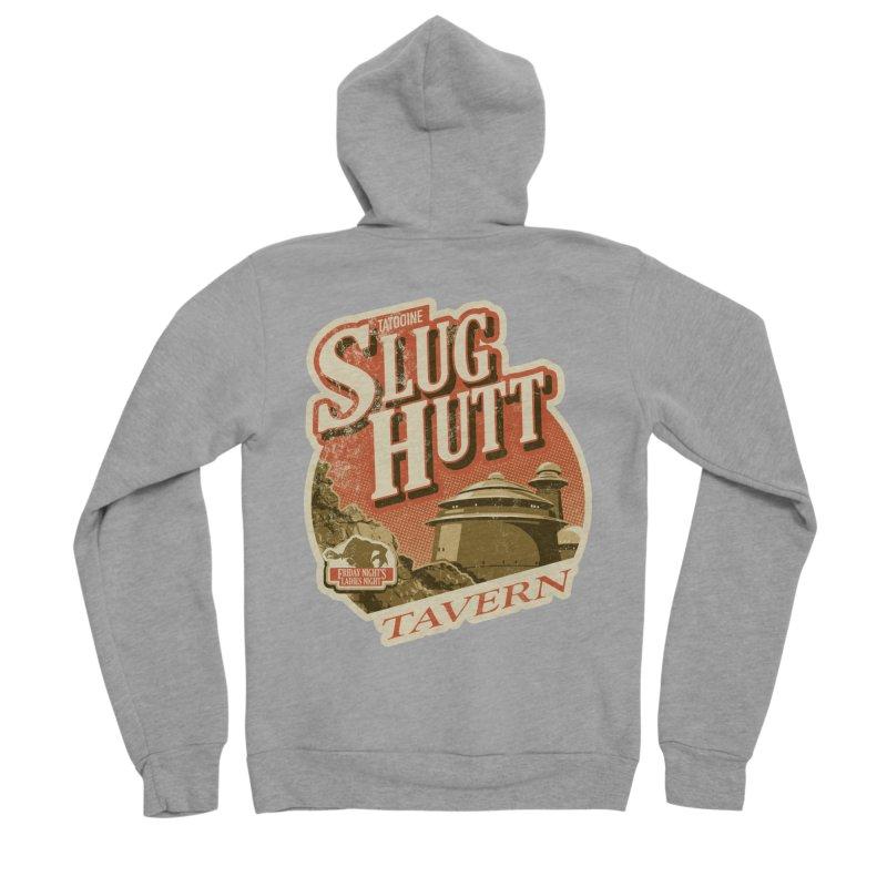 Slug Hutt Women's Sponge Fleece Zip-Up Hoody by Stephen Hartman Illustration Shop