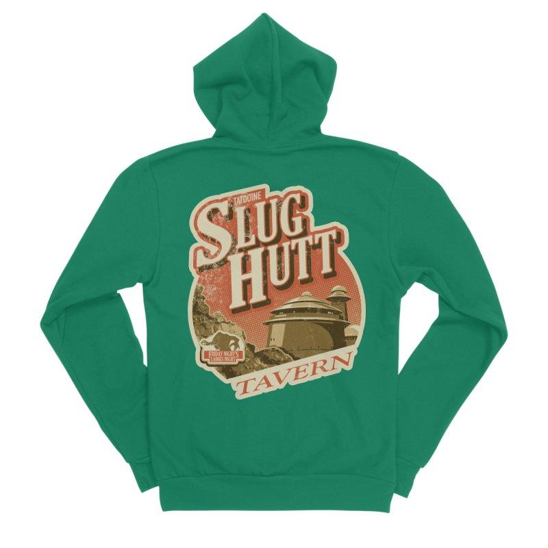 Slug Hutt Men's Sponge Fleece Zip-Up Hoody by Stephen Hartman Illustration Shop