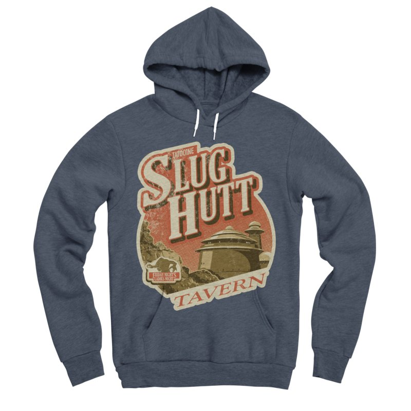 Slug Hutt Men's Sponge Fleece Pullover Hoody by Stephen Hartman Illustration Shop