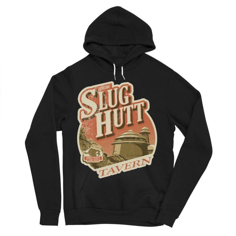 Slug Hutt Women's Sponge Fleece Pullover Hoody by Stephen Hartman Illustration Shop