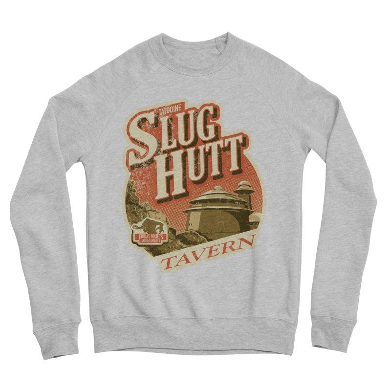 Slug Hutt Men's Sponge Fleece Sweatshirt by Stephen Hartman Illustration Shop