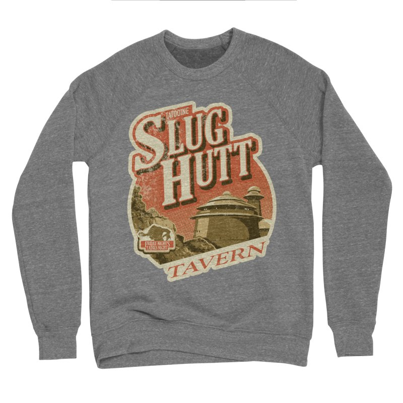 Slug Hutt Men's Sponge Fleece Sweatshirt by Stephen Hartman Illustration Shop