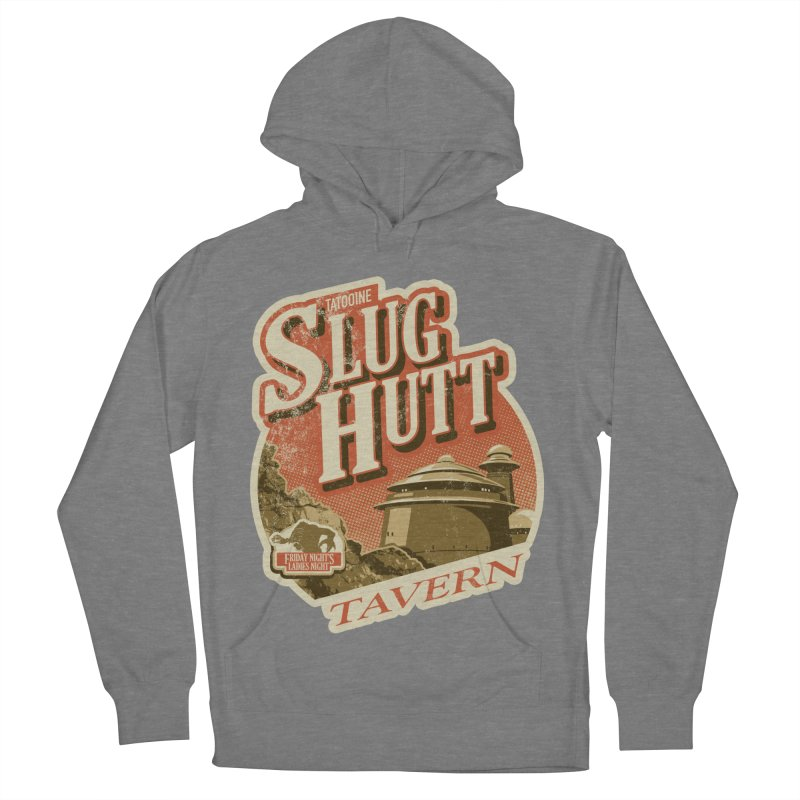 Slug Hutt Women's French Terry Pullover Hoody by Stephen Hartman Illustration Shop