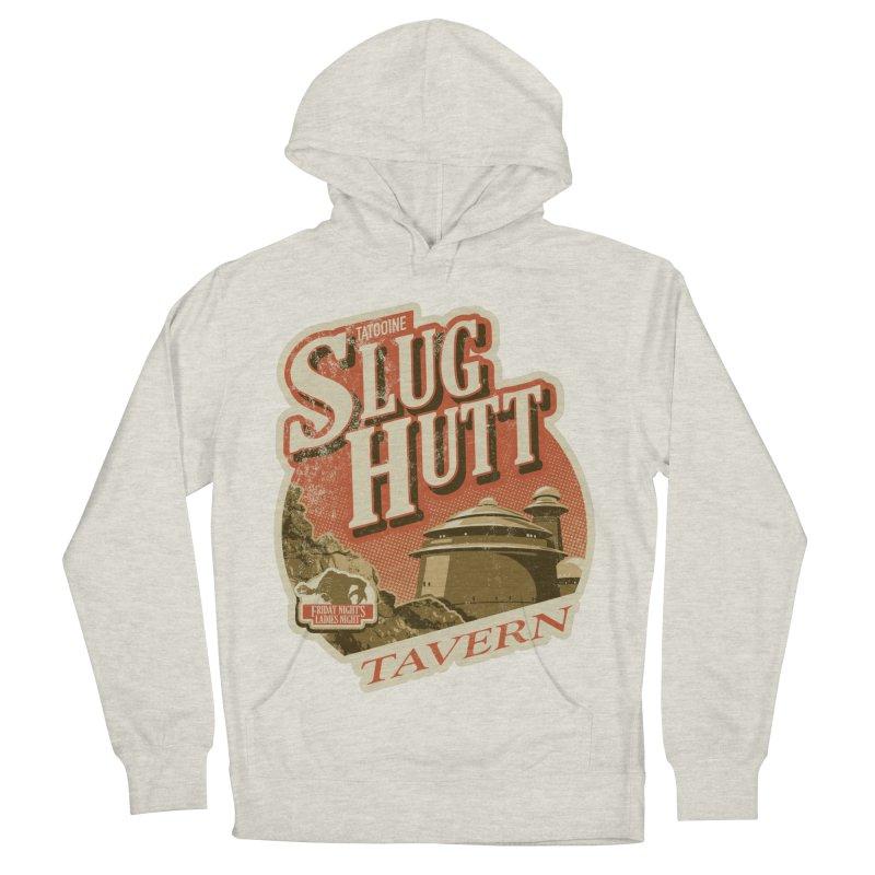 Slug Hutt Women's French Terry Pullover Hoody by Stephen Hartman Illustration Shop