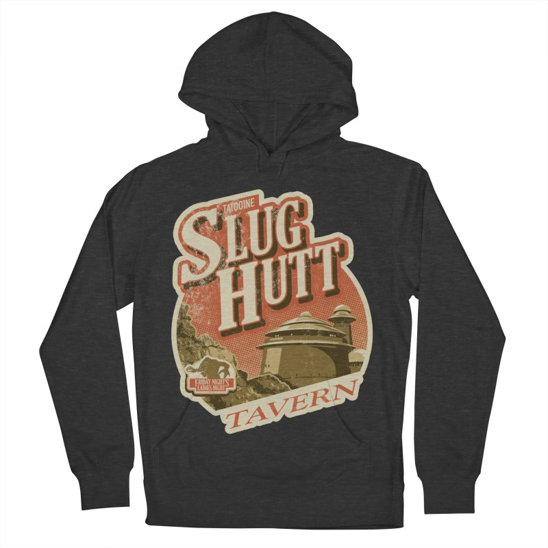 Slug Hutt Men's French Terry Pullover Hoody by Stephen Hartman Illustration Shop