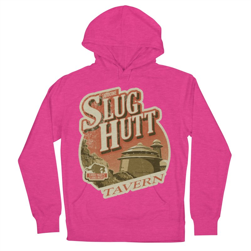 Slug Hutt Men's French Terry Pullover Hoody by Stephen Hartman Illustration Shop