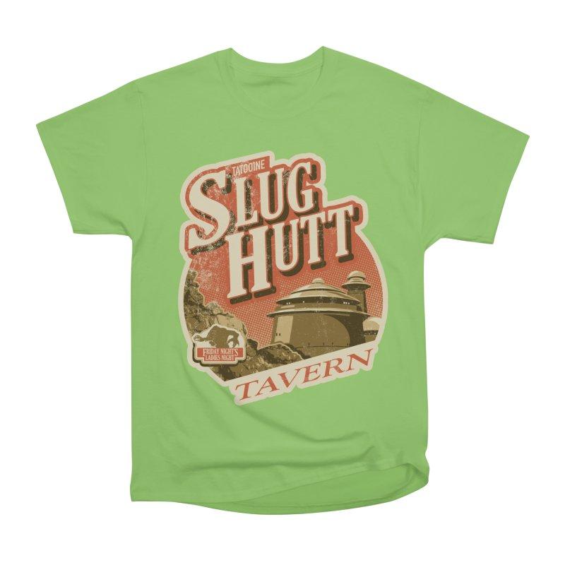 Slug Hutt Men's Heavyweight T-Shirt by Stephen Hartman Illustration Shop