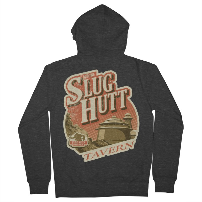 Slug Hutt Women's French Terry Zip-Up Hoody by Stephen Hartman Illustration Shop