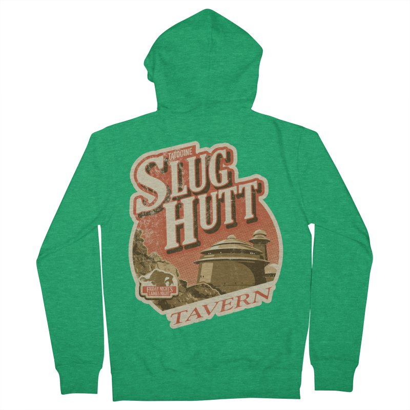 Slug Hutt Men's French Terry Zip-Up Hoody by Stephen Hartman Illustration Shop