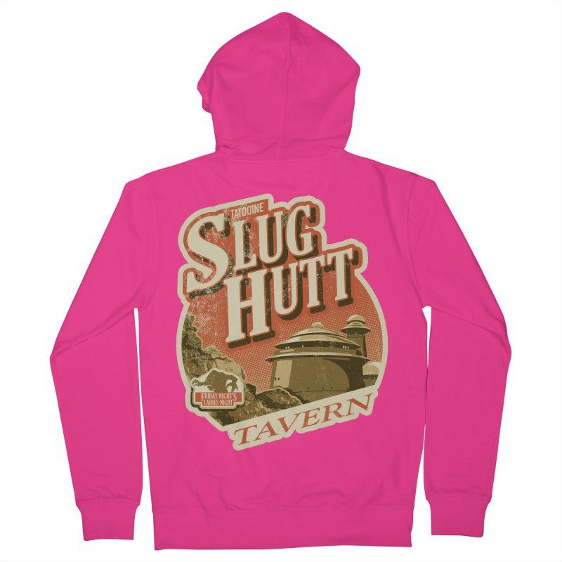 Slug Hutt Men's French Terry Zip-Up Hoody by Stephen Hartman Illustration Shop