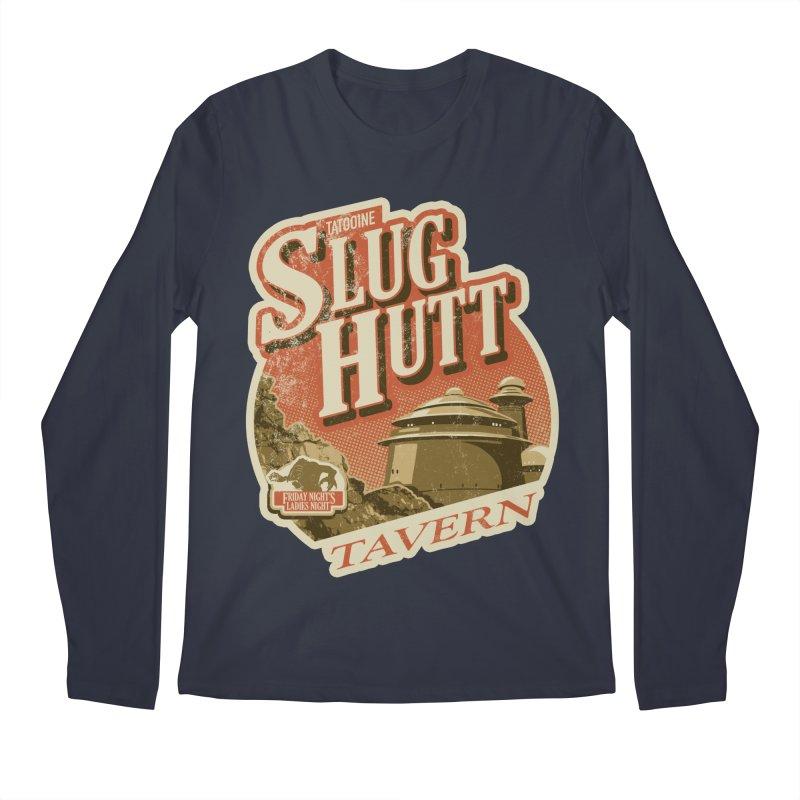 Slug Hutt Men's Regular Longsleeve T-Shirt by Stephen Hartman Illustration Shop