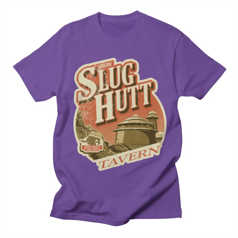 Slug Hutt Men's Regular T-Shirt by Stephen Hartman Illustration Shop