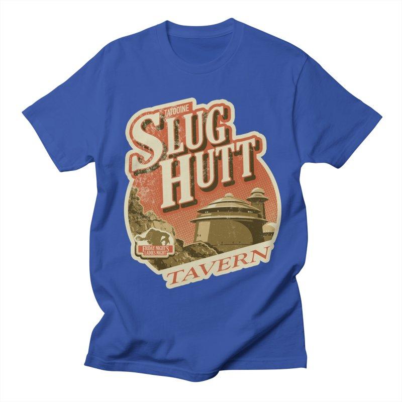 Slug Hutt Men's Regular T-Shirt by Stephen Hartman Illustration Shop