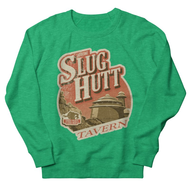 Slug Hutt Men's French Terry Sweatshirt by Stephen Hartman Illustration Shop