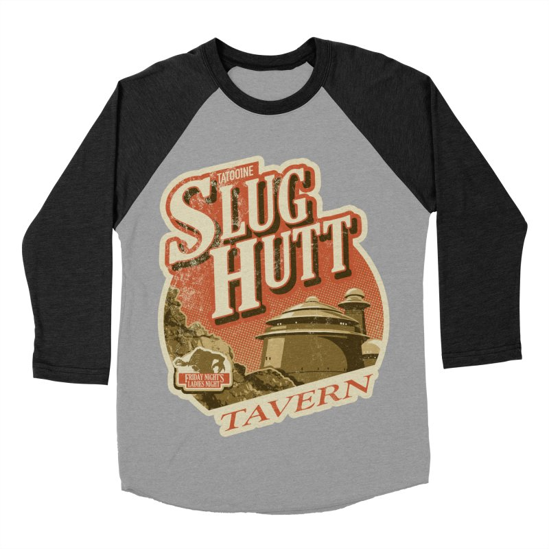 Slug Hutt Women's Baseball Triblend Longsleeve T-Shirt by Stephen Hartman Illustration Shop