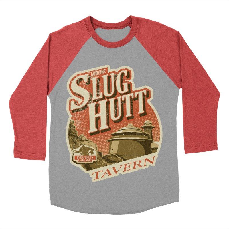 Slug Hutt Men's Baseball Triblend Longsleeve T-Shirt by Stephen Hartman Illustration Shop