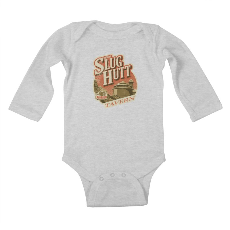 Slug Hutt Kids Baby Longsleeve Bodysuit by Stephen Hartman Illustration Shop